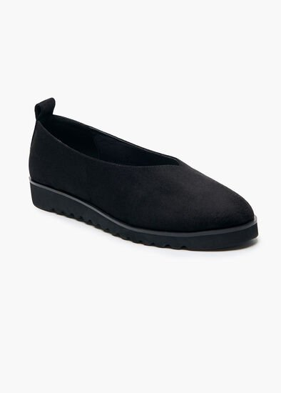 Bettina Black Flat