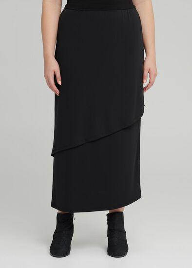 Wisteria Wrap Maxi Skirt