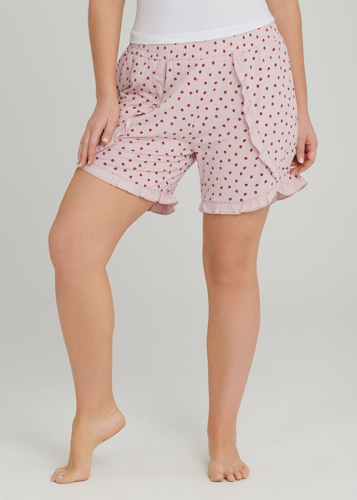 Kiss Kiss Bamboo Pj Short, , hi-res