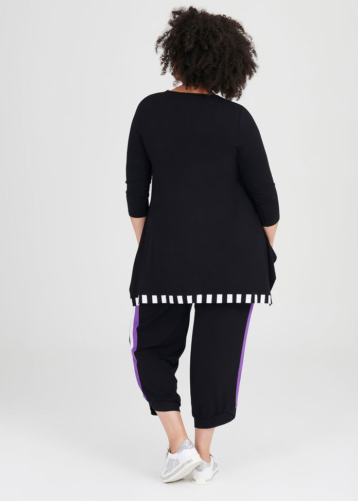 Natural Cat On The Line Tunic, , hi-res