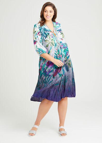 Latitude Natural Ombre Dress