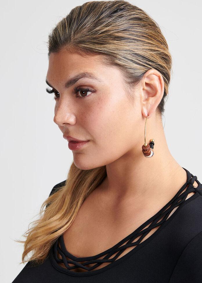 Serengeti Earrings, , hi-res