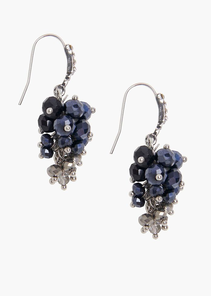Ceylon Cluster Earrings, , hi-res