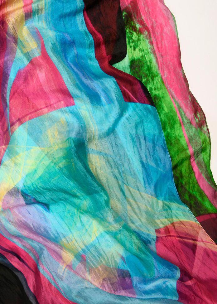 Lightspeed Silk Scarf, , hi-res