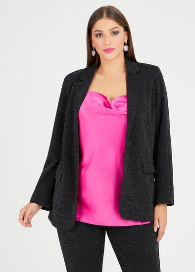 Natalie Lurex Jacket