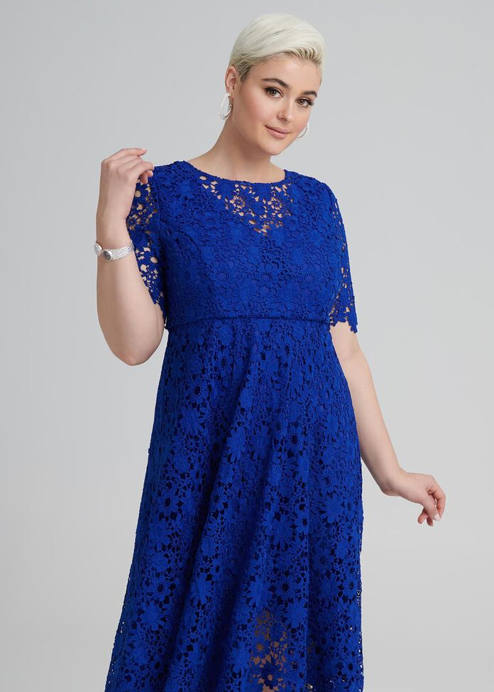 Just You Wait Lace Dress, , hi-res