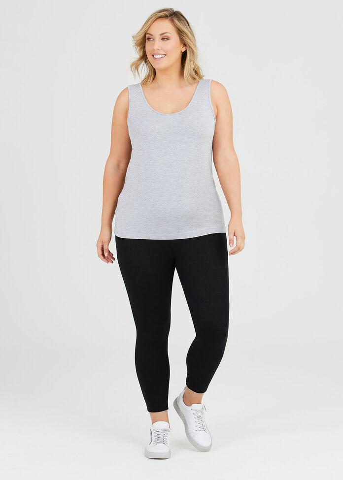 Organic Cotton 7/8 Legging, , hi-res