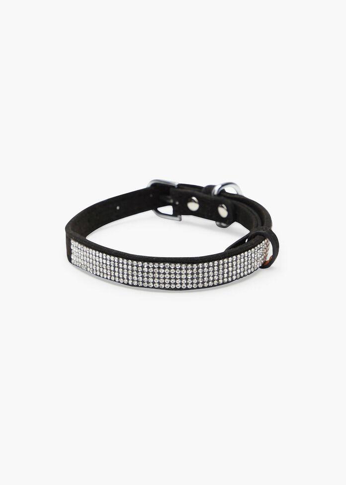 Rhinestone Bling Pet Collar, , hi-res