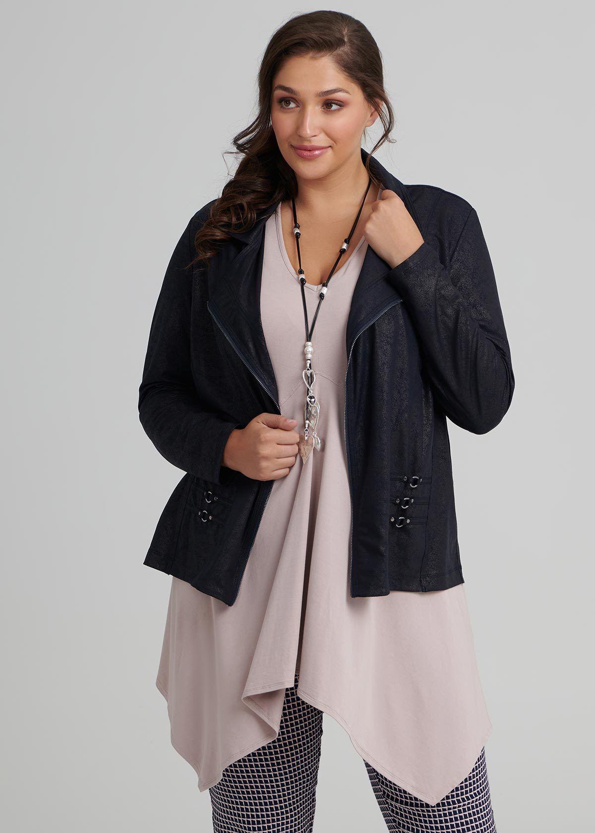 Details about Plus Size Polar Fleece Dressing Gown Zip Front s.3840 Australian Made