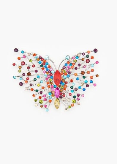 Bright Butterfly Brooch