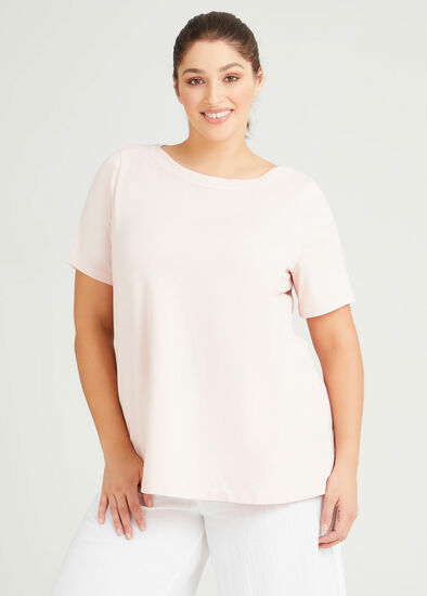Organic Boat Neck T-shirt