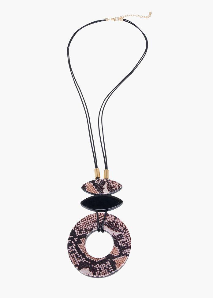 The Boa Pendant Necklace, , hi-res