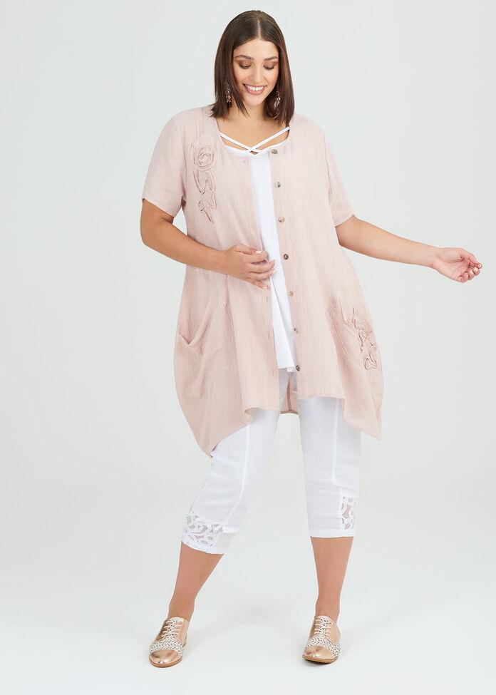 Only Love Linen Shirt, , hi-res
