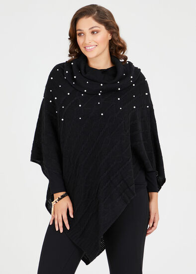 Cascading Pearl Poncho