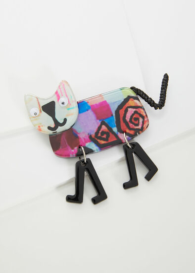 Come Back Kitty Brooch