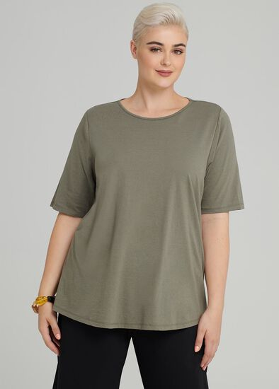 Easy Wear Short Sleeve Top