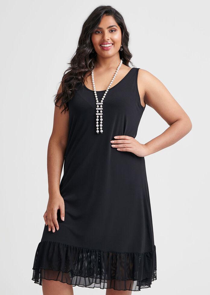 Ruffle Around Dress, , hi-res