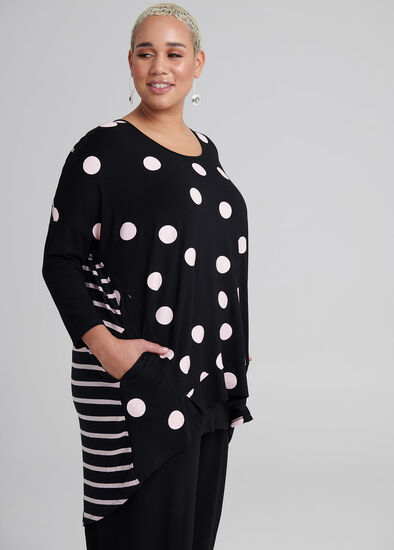 Spots And Stripes Top