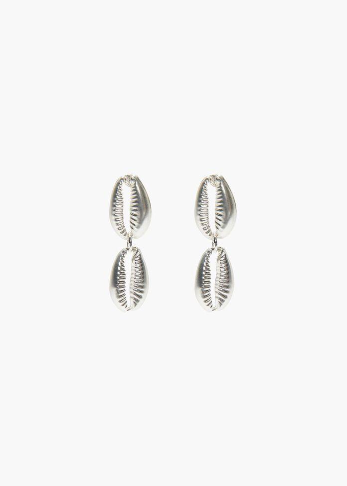 Cowrie Shell Earrings, , hi-res