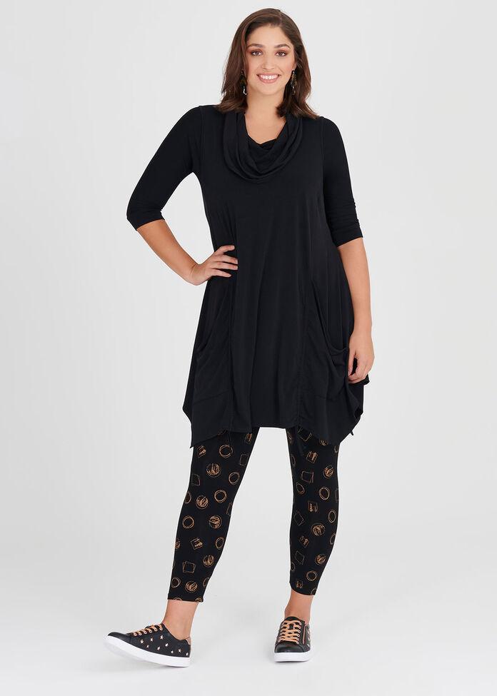 Natural Modern Luxe Legging, , hi-res