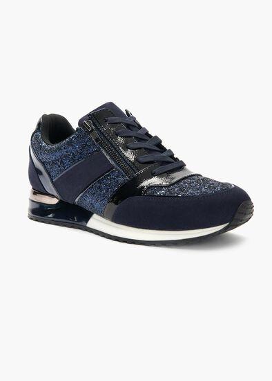 Deni Dual Zip Sneaker