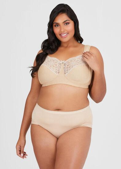Wirefree Super Comfort Bra Size 14-18