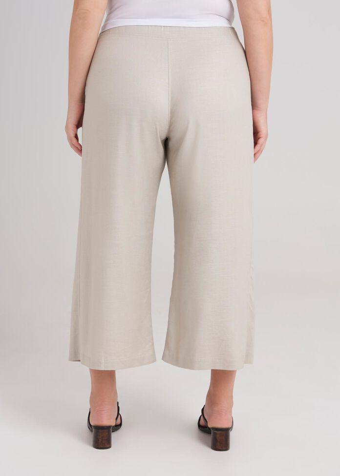 Cropped Wide Leg Pant, , hi-res