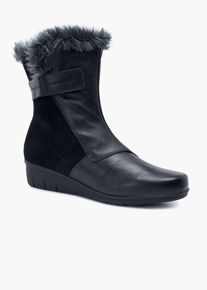 Sage Spanish Blk Boot, , hi-res