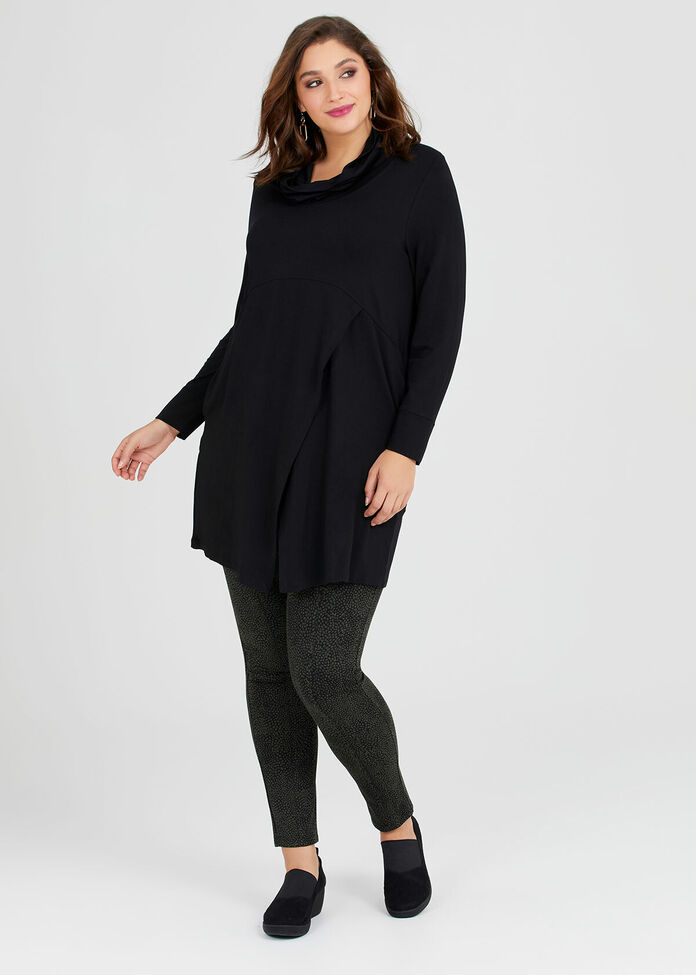 Bamboo Cocoon Tunic, , hi-res