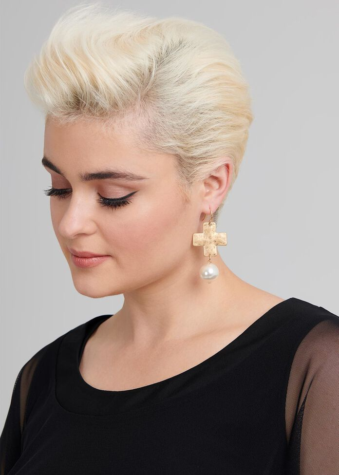 Borderline Earrings, , hi-res