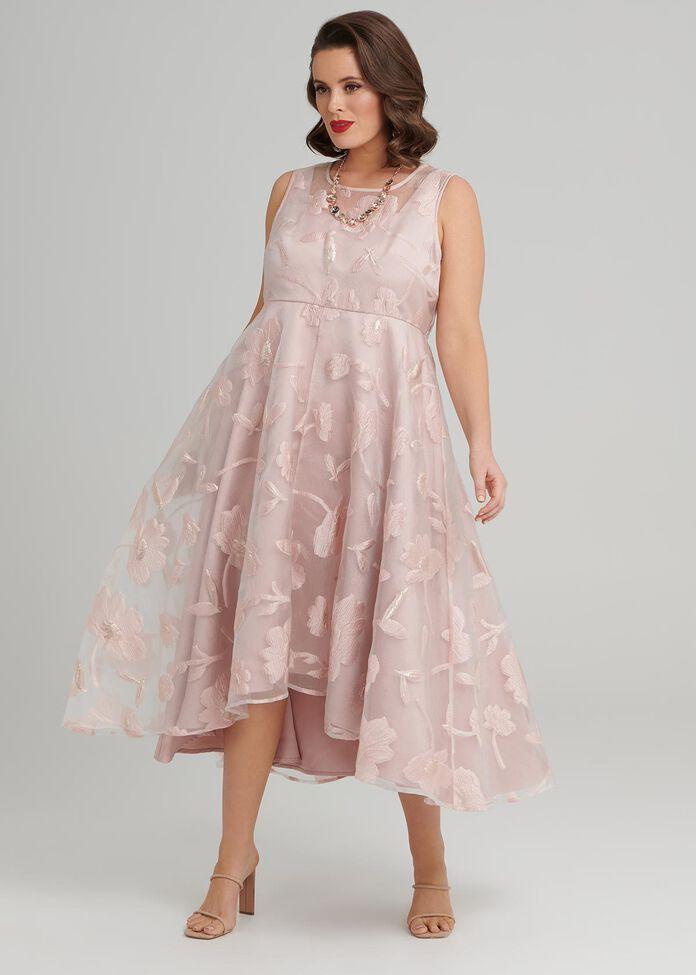 Venice High Low Dress, , hi-res
