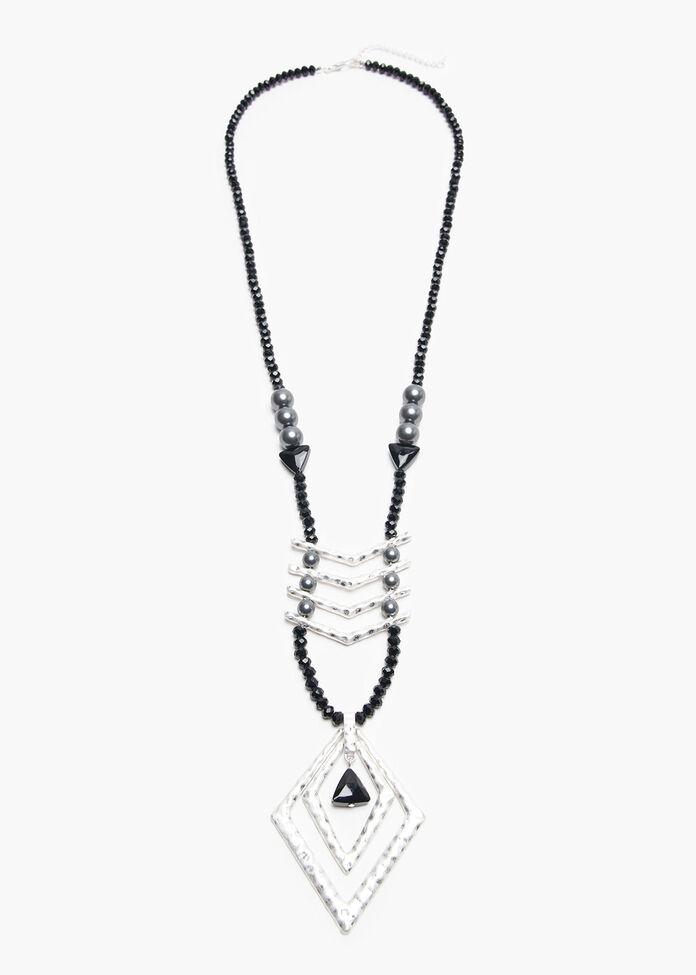 Chevron Necklace, , hi-res