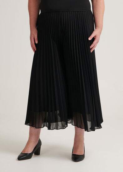 Sunray Pleated Culottes