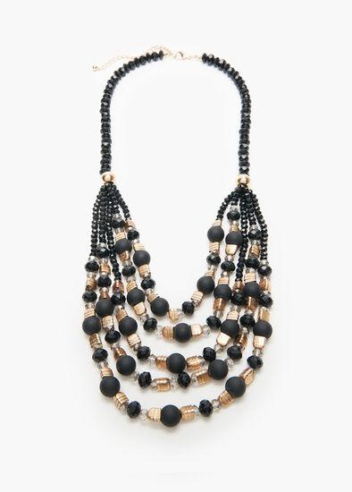 Back In Black Necklace