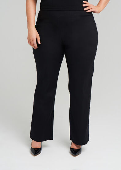 Petite Editorial Straight Pant