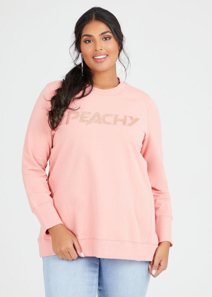 Organic Peachy Sweat, , hi-res