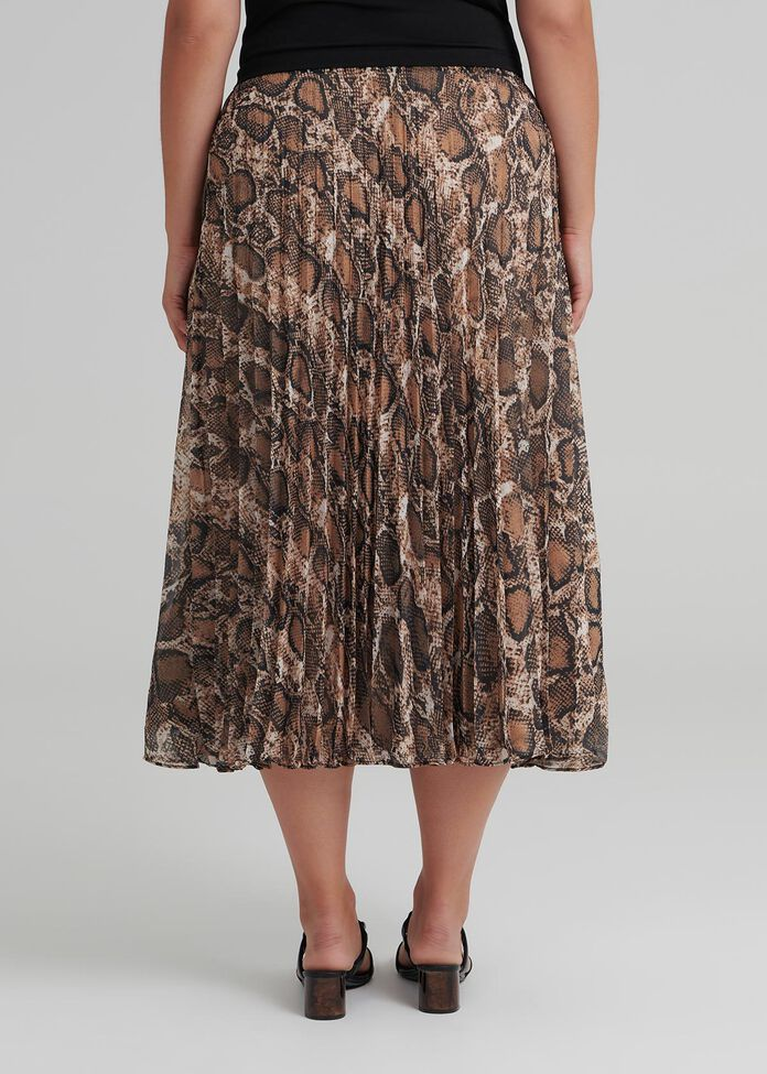 Society Pleat Skirt, , hi-res