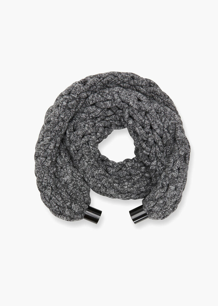 Braided Magnetic Scarf, , hi-res