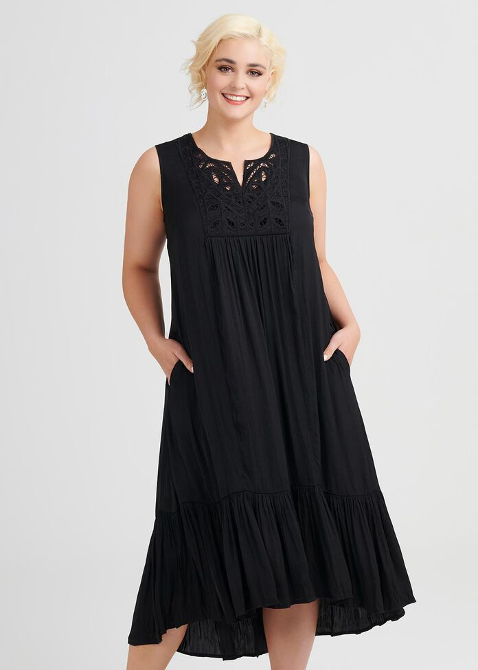 Luxe Boho Dress, , hi-res