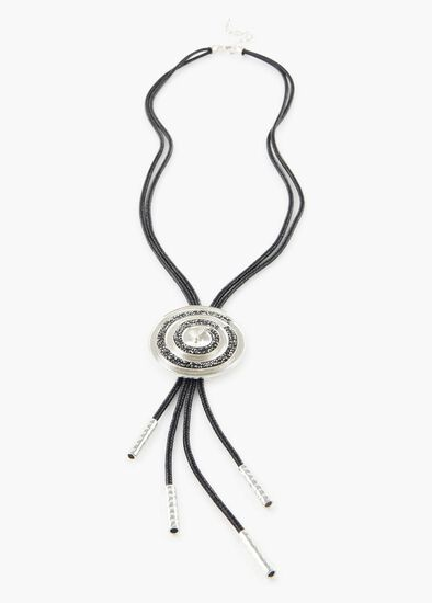 Crusted Coil Necklace