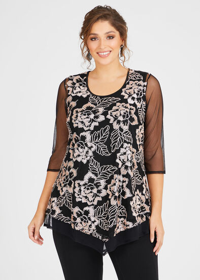 Bella Sequins Tunic