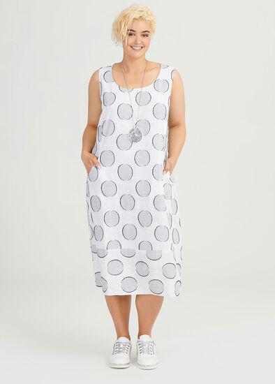 Linen Ascot Dress