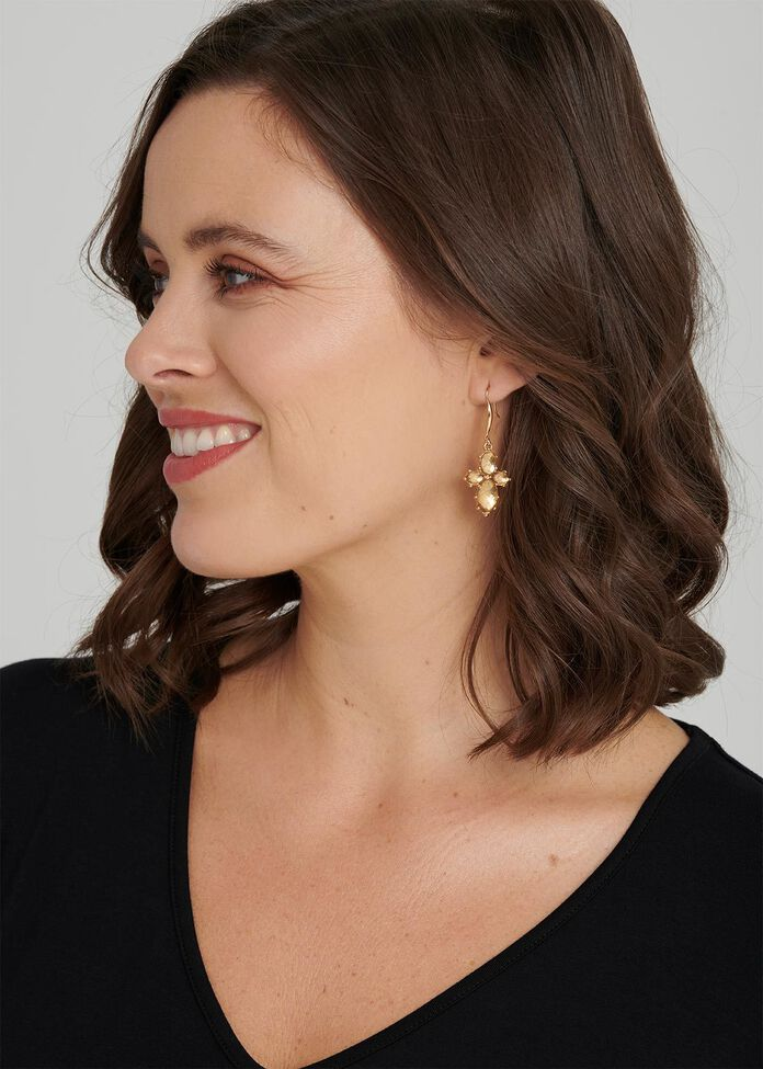 Criss Cross Earrings, , hi-res