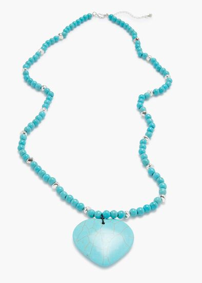 Azure Stone Necklace
