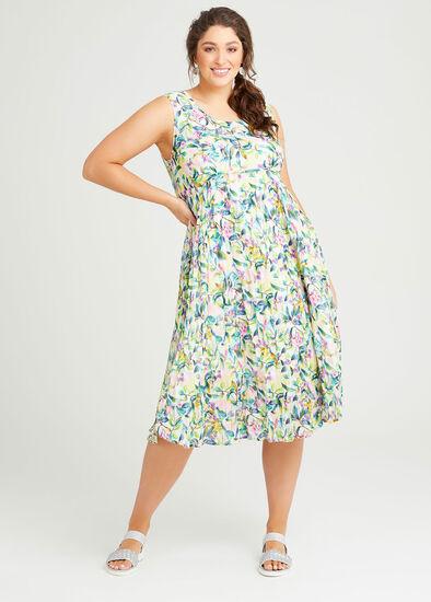 Cotton Paloma Tiered Dress