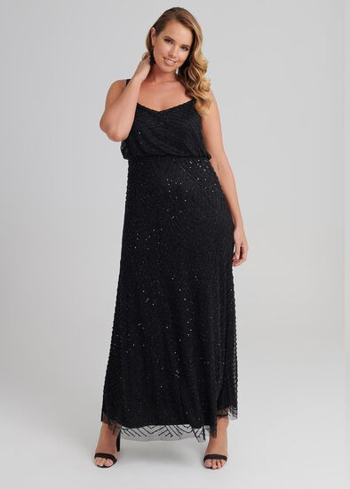 Hot Shot Maxi Dress