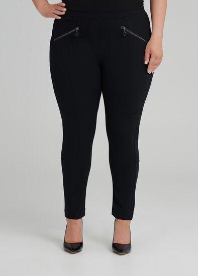 Petite Coco Zip Legging
