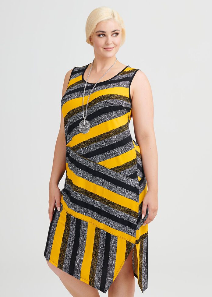 Nikita Stripe Dress, , hi-res