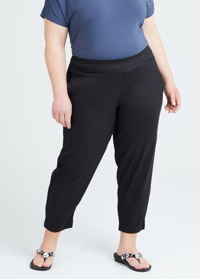 Petite Linen Elemental Pant