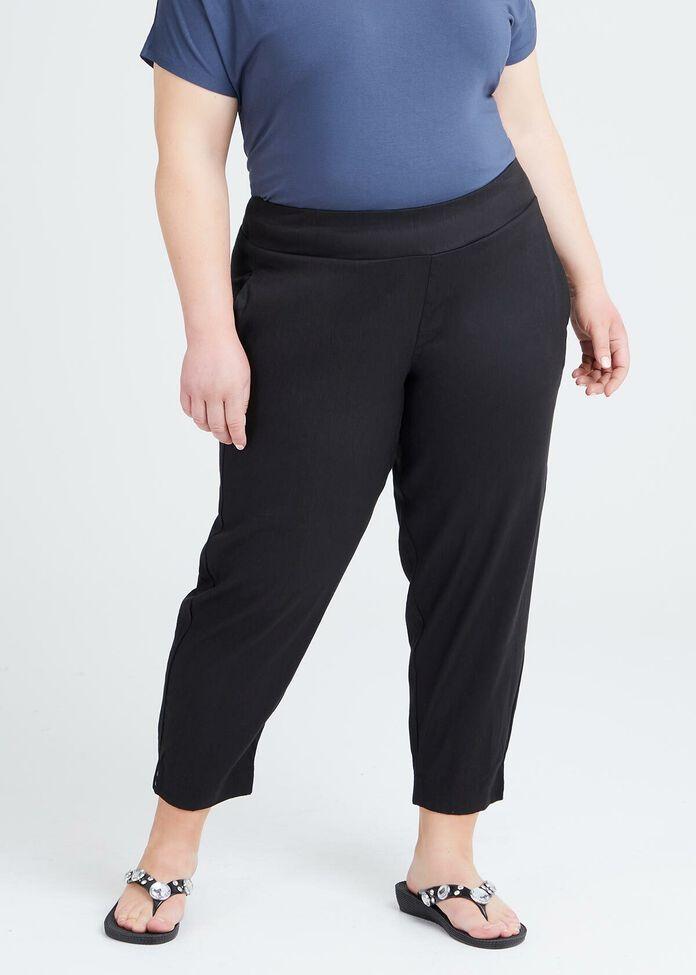 Petite Linen Elemental Pant, , hi-res